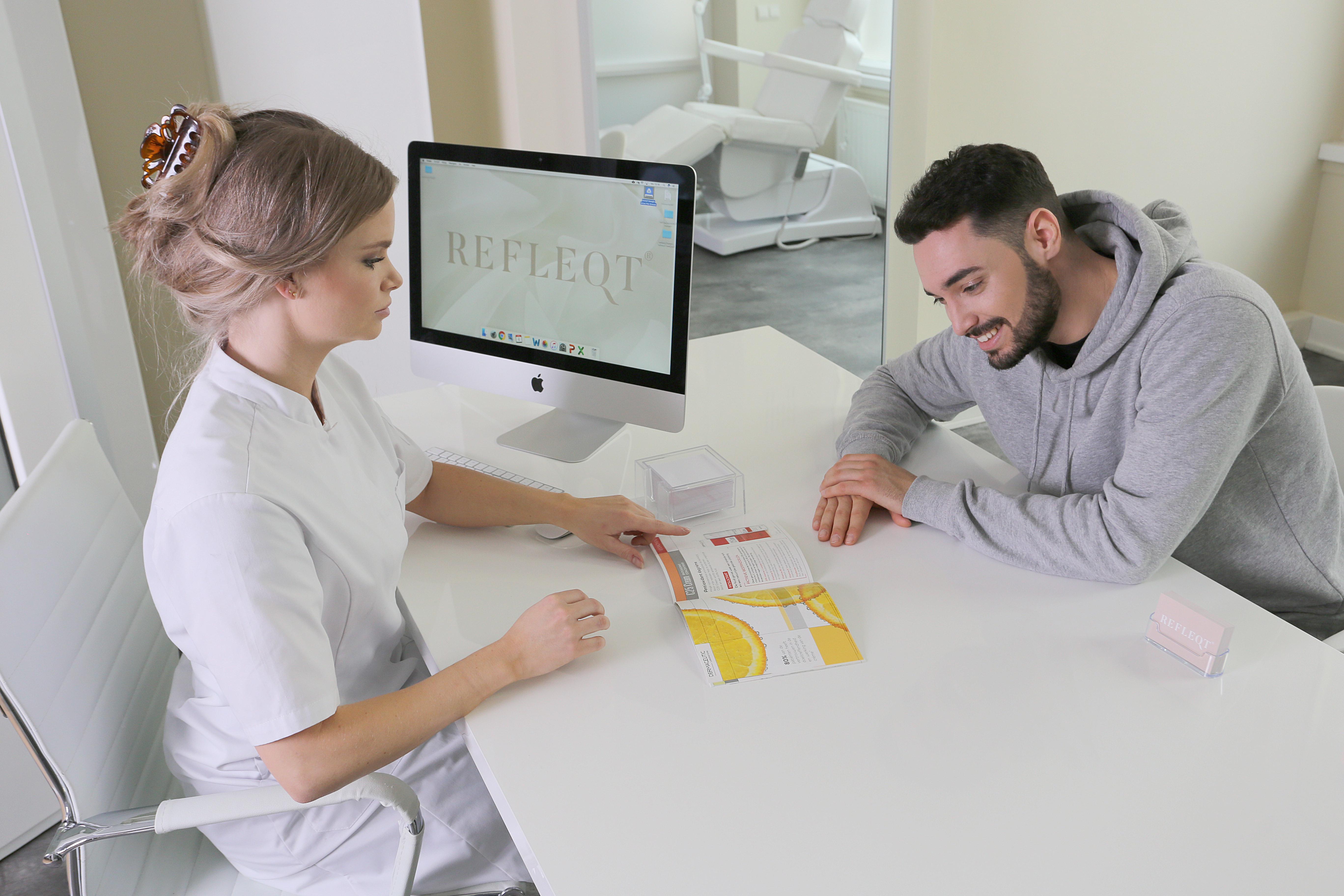 rosacea refleqt clinic