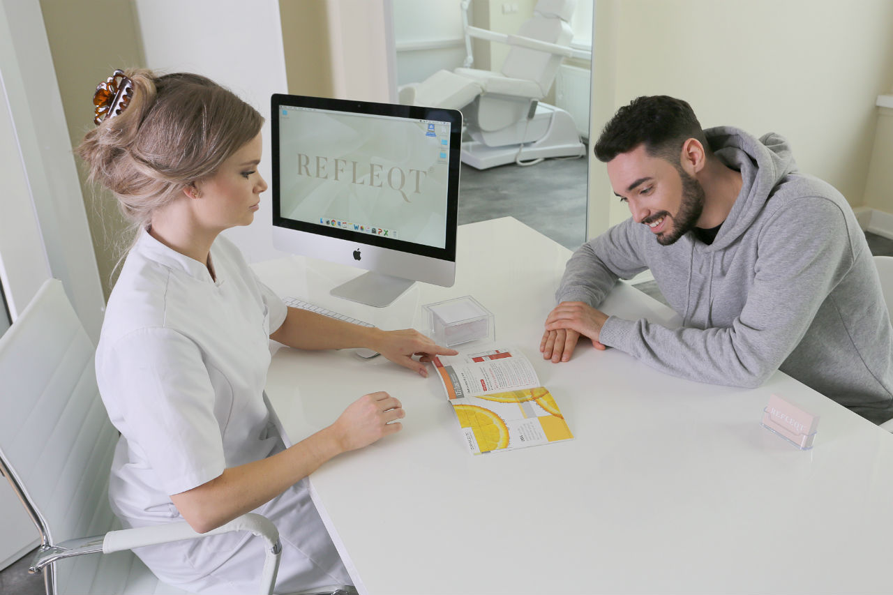 consult huidtherapie jessica penner refleqt clinic haarlem